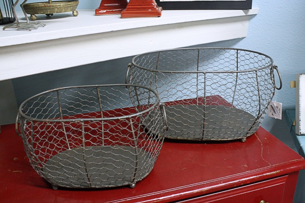 Oval Mesh Baskets