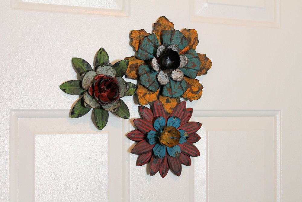 Awesome Blossom Metal Magnets